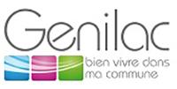 LOGO DE LA VILLE DE GÉNILAC.
