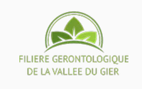 LOGO FILIERE GERONTOLOGIE DE LA VALLÉE DU GIER.