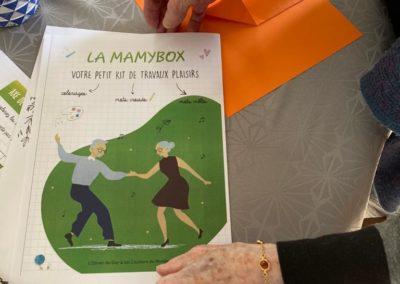 DISTRIBUTION DE LA BOX