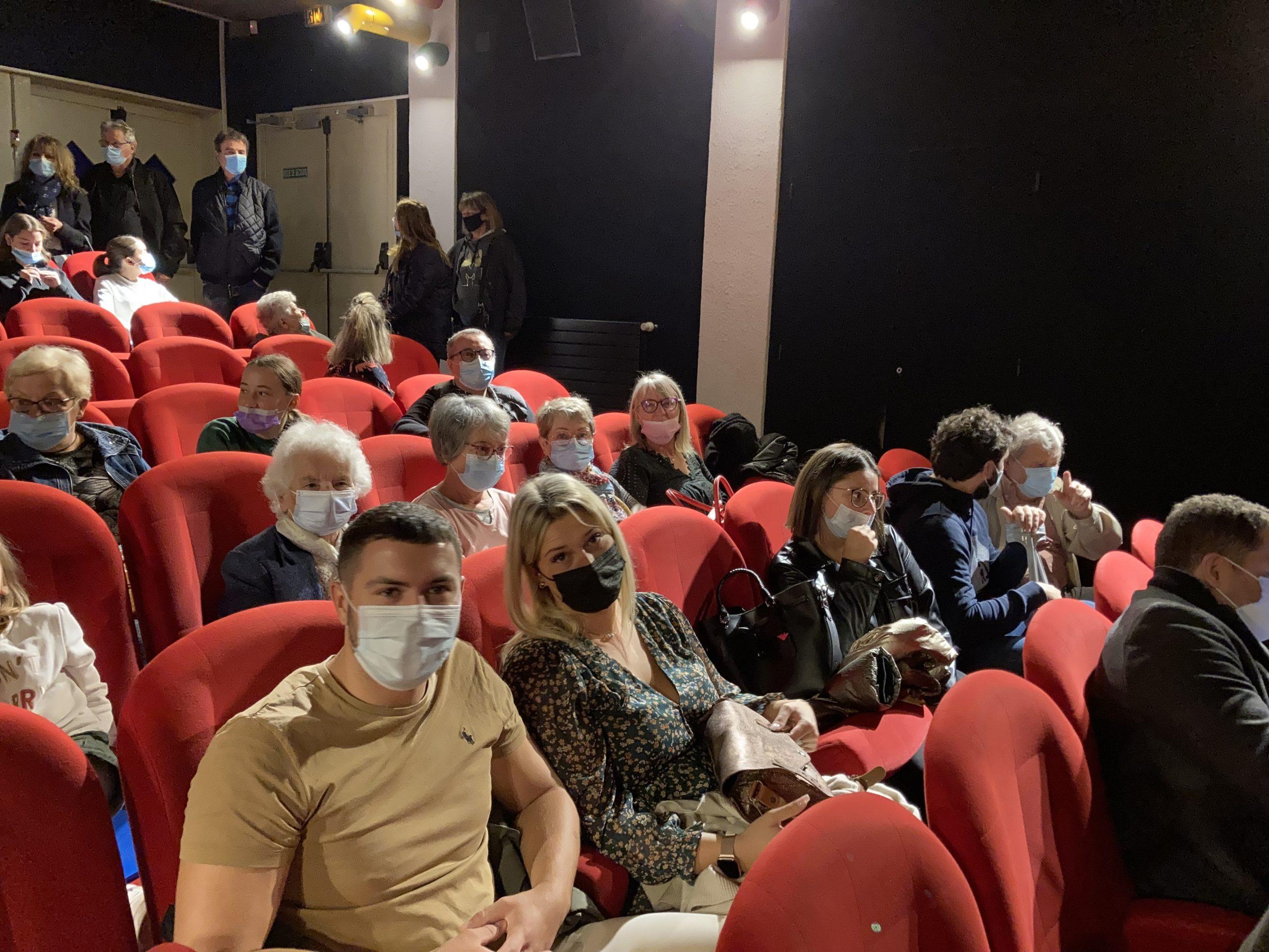 Projection et résultat de l'Oli Concours au cinéma Le Chaplin